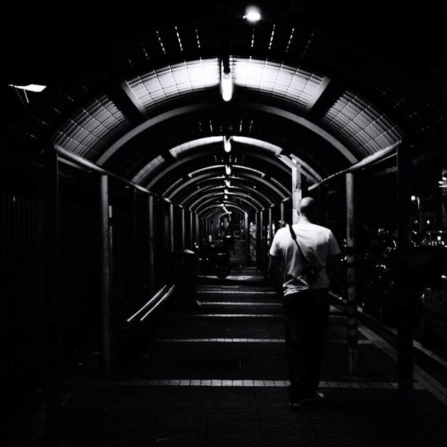 Darkness And Light Black & White Blackandwhite Streetphotography Black And White Traveling Kuala Lumpur