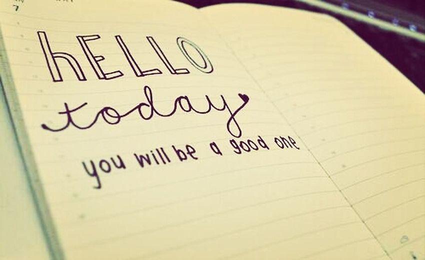 Good morning. ♥