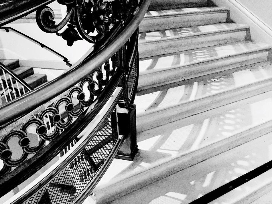 Marble stairway, Washington DC Black & White City Life Street Photography Marble Stairs Washington DC.