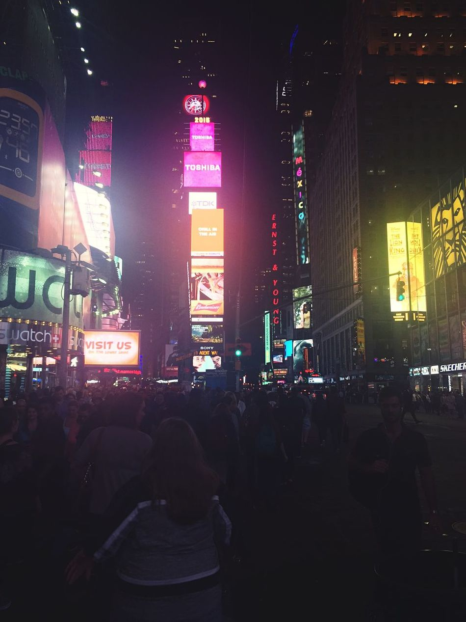Times Square NYC New York City First Time In NY Beautiful City Vacation First Eyeem Photo