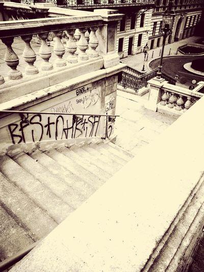 Graffiti Vienna Vienna_city Mahü No People Day Built Structure Architecture Outdoors City Architecture