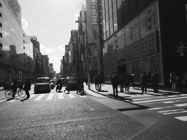 Taking Photos IPhoneography Snapshots Of Life Blackandwhite Streetphotography OpenEdit Tokyo Japan Eyemphotography 銀座