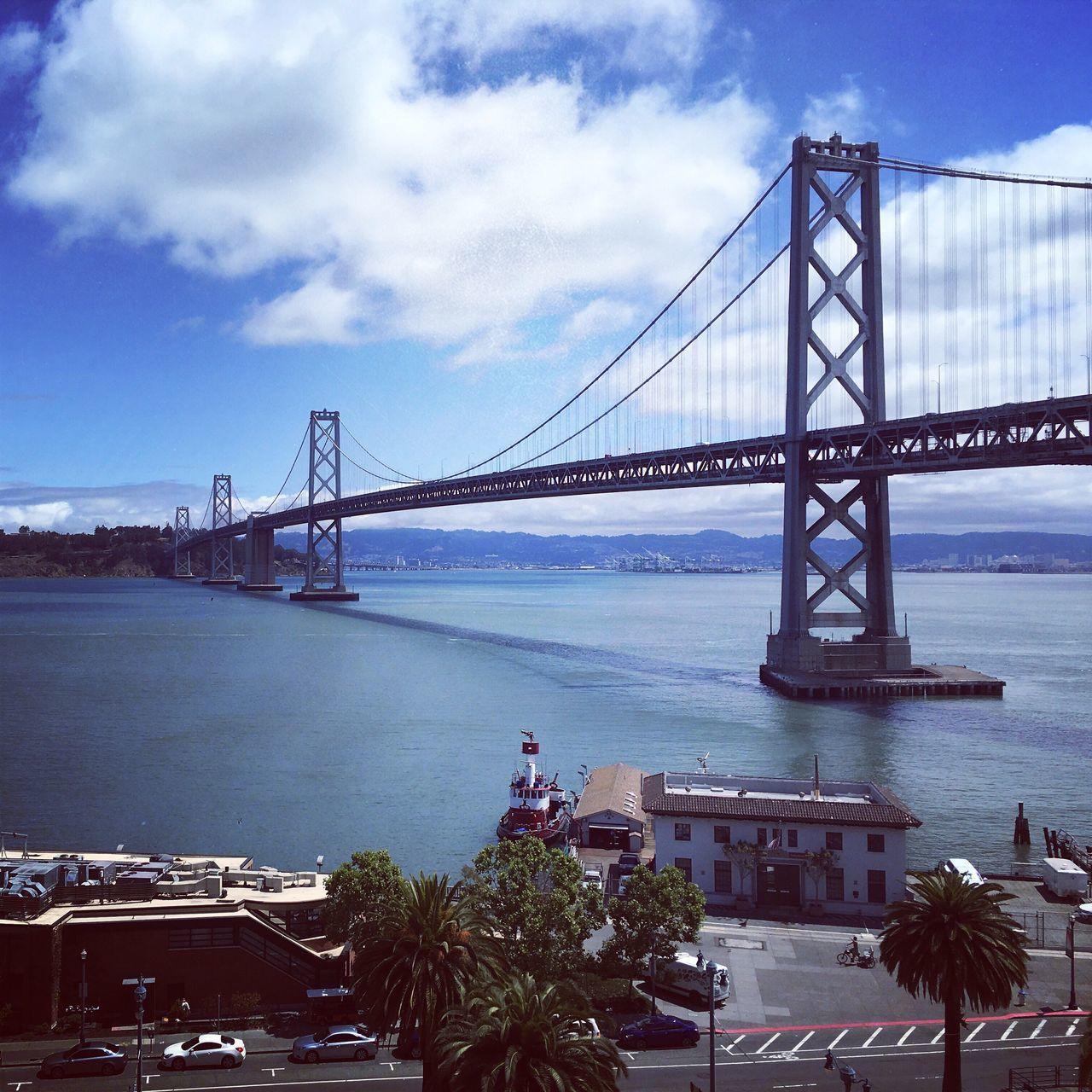 View Of Bay Bridge Over River