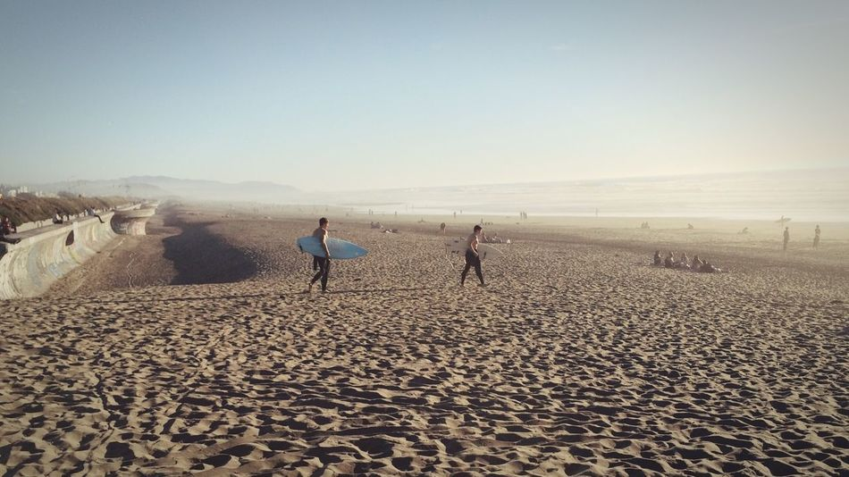 Going Surfing Beach Surfing Sunshine