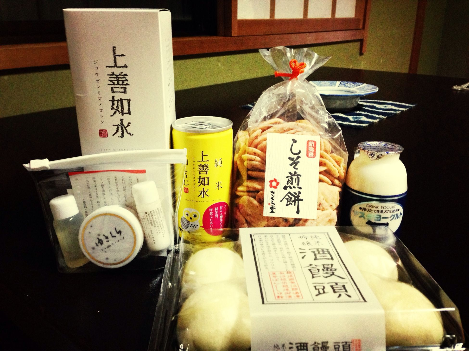まだ明日もあるのにめっちゃ買ってしまった。。白麹の日本酒がおいしい。 Taking Photos Travel Sake Souvenirs