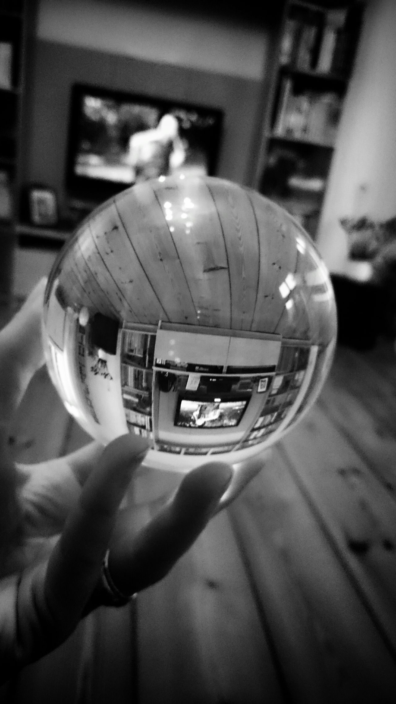 Got my Cristalball and looking forward to the next photowalk. EyeEm Best Shots Blackandwhite Eye4photography  Black & White Cristal Ball Livingroom Blackandwhite Photography