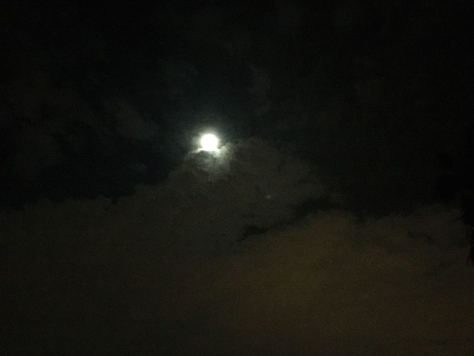 Moon Night Beauty In Nature No People Nature Illuminated Moonlight Moon Light Nightview Nightvibes Cloud Nightsky