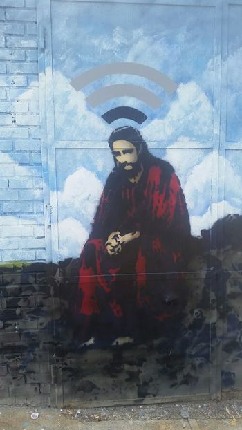 Mario... new work is nearly up... gotta come to 8th street!!!this pic says it all for 2015-.... The Best Of New York Graffiti Streetphotography God Wifi Thinking My Smartphone Life Art Truth On The Move