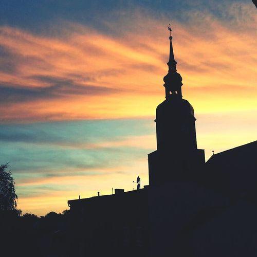 Stadtfest Spremberg Sunset Skyporn