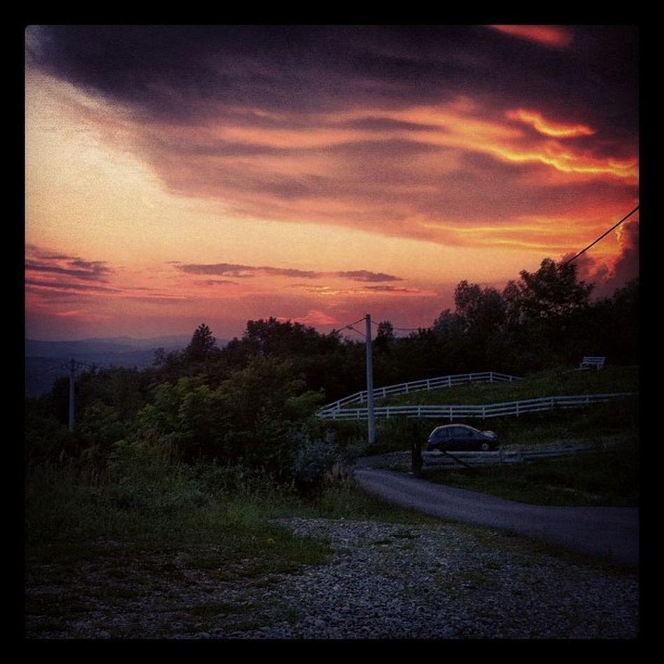 Beautiful clouds Sunset Sky Mountains Beautiful Romania Campina Ig_romania Clouds