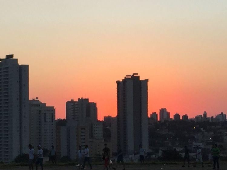 Goiânia city. Goiás state. Serra Dourada Stadium view. Relaxing Enjoying Life Goiânia ExploringBrazil Sky Enjoying The View EyeEm Best Shots Sunset_collection Landscape Goiás State