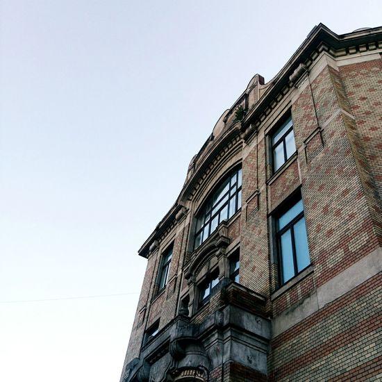 Cluj-Napoca Romania Library Historical Building Impressive Dusk Clear Sky Beautiful Day Summer