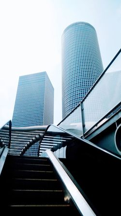 Architecture Modern Skyscraper Built Structure Staircase No People Day