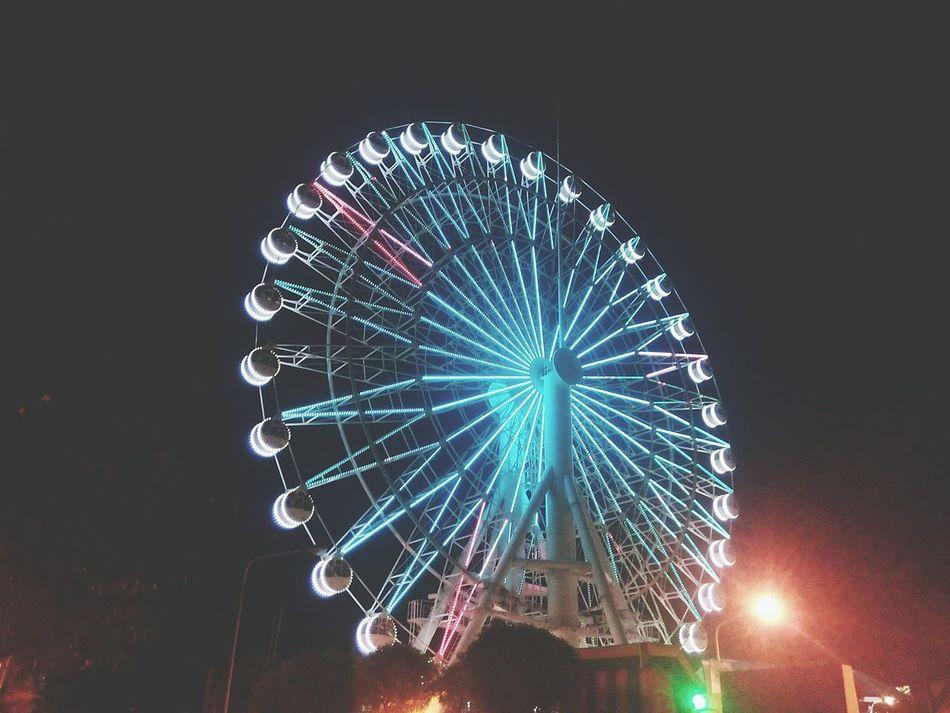 Ferrys Wheel Lights In The Dark Eyeem Philippines EyeEm Gallery Cities At Night