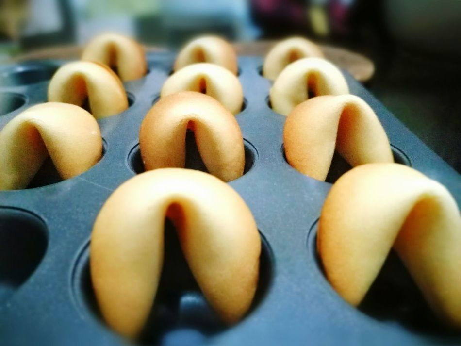 Know your fortune! Fortune Cookie Chinese New Year Freshly Baked Handmade