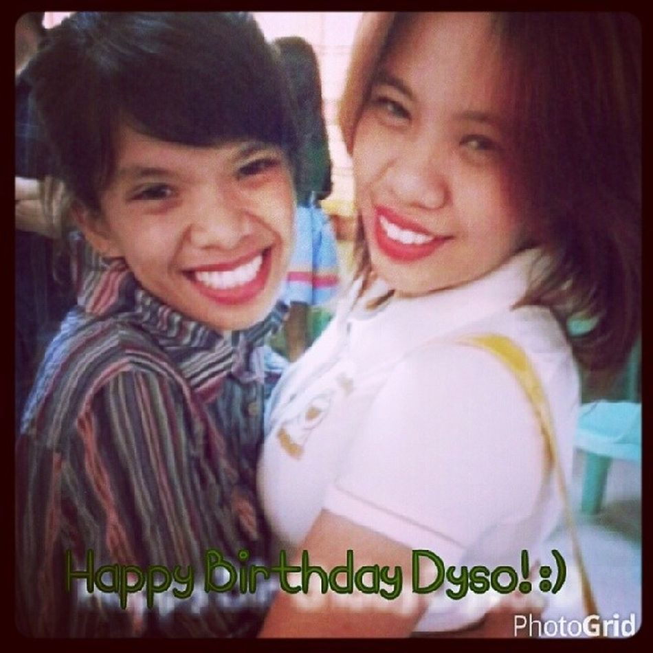 Happy Belated Birthday Dyso-girl! More blessings and birthdays to come.. I love you and miss you! Hugs and kisses! ♥♡♥ Godbless! 01252013