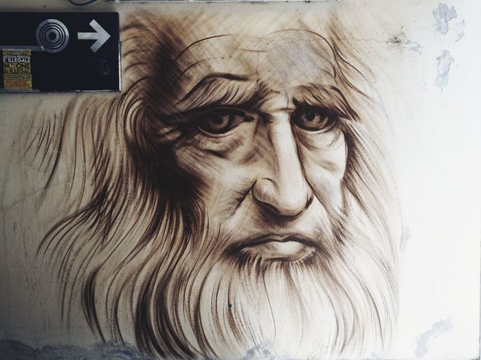 Human Face Adult Human Body Part Adults Only Close-up Portrait People Painted Image Indoors  One Person One Man Only Young Adult Only Men Day Da Vinci Da Vinci Code Da Vinci In Da House Live For The Story