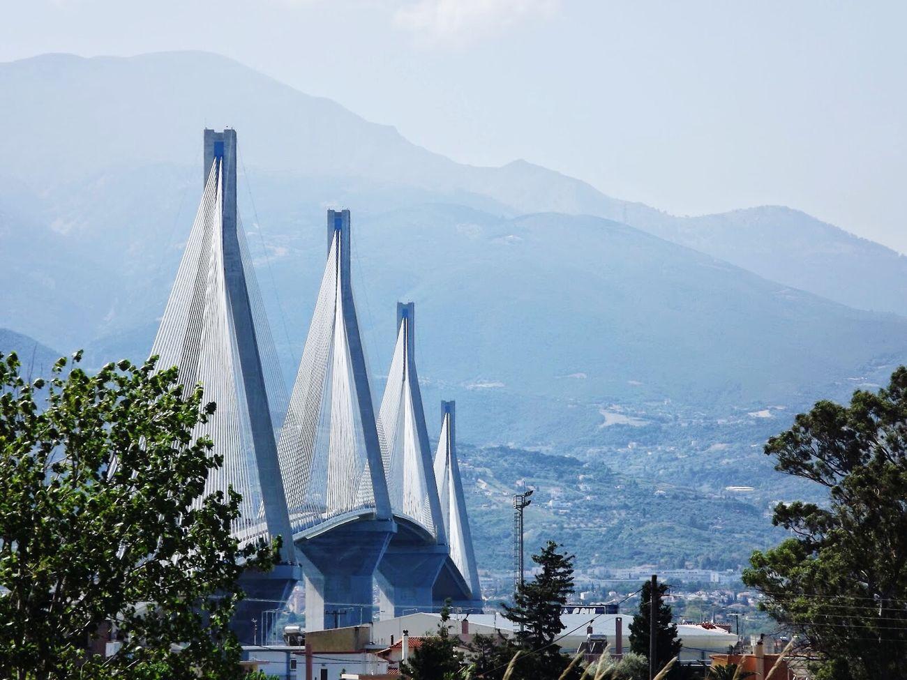 Corint RioAntirio Bridge Roadtrip Travel Architecture Europe