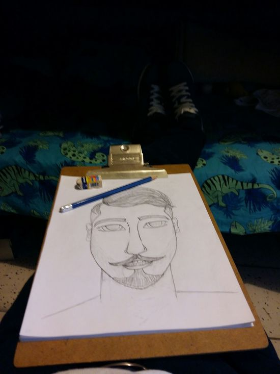 Just Drawing Relaxing Time Men Beard Dibujando Dibujar Hombre Art, Drawing, Creativity Art