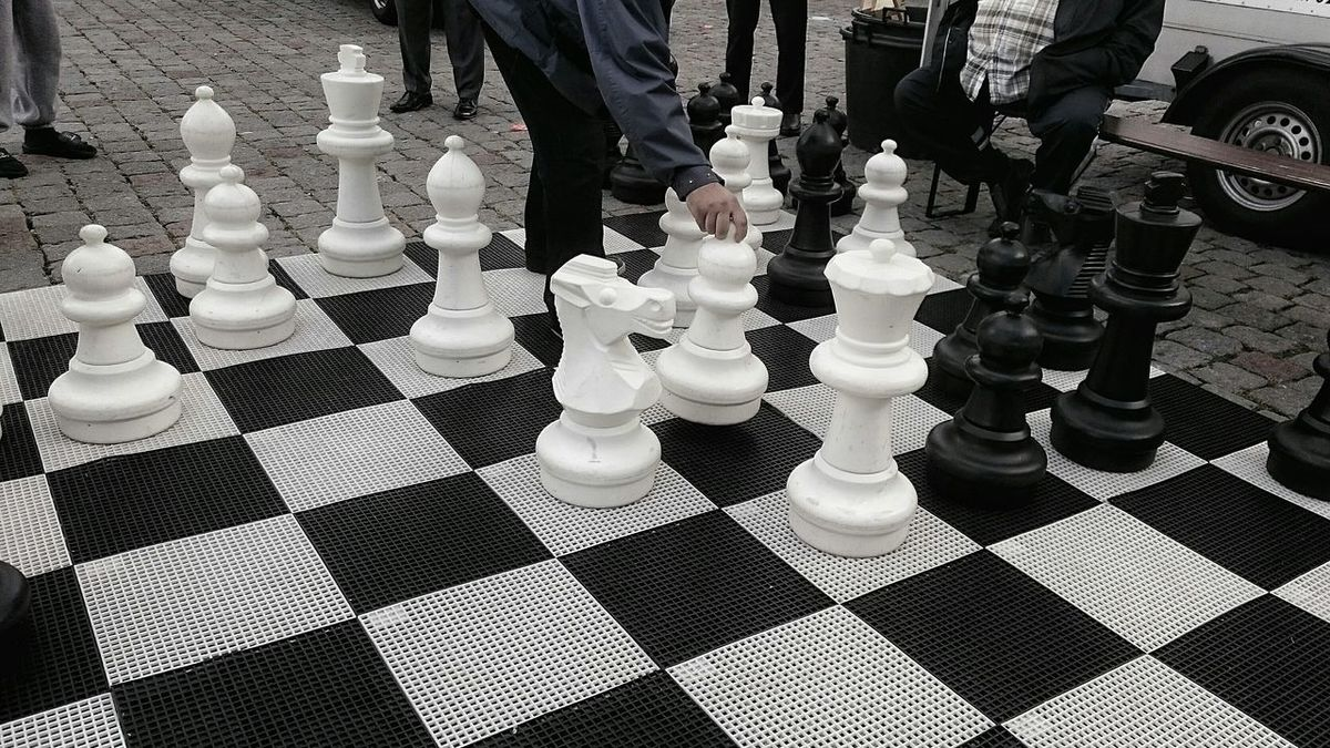 Streetphotography Black And White Street Chess Chessboard Scale Model Capture The Moment What I Value The Week On EyeEm