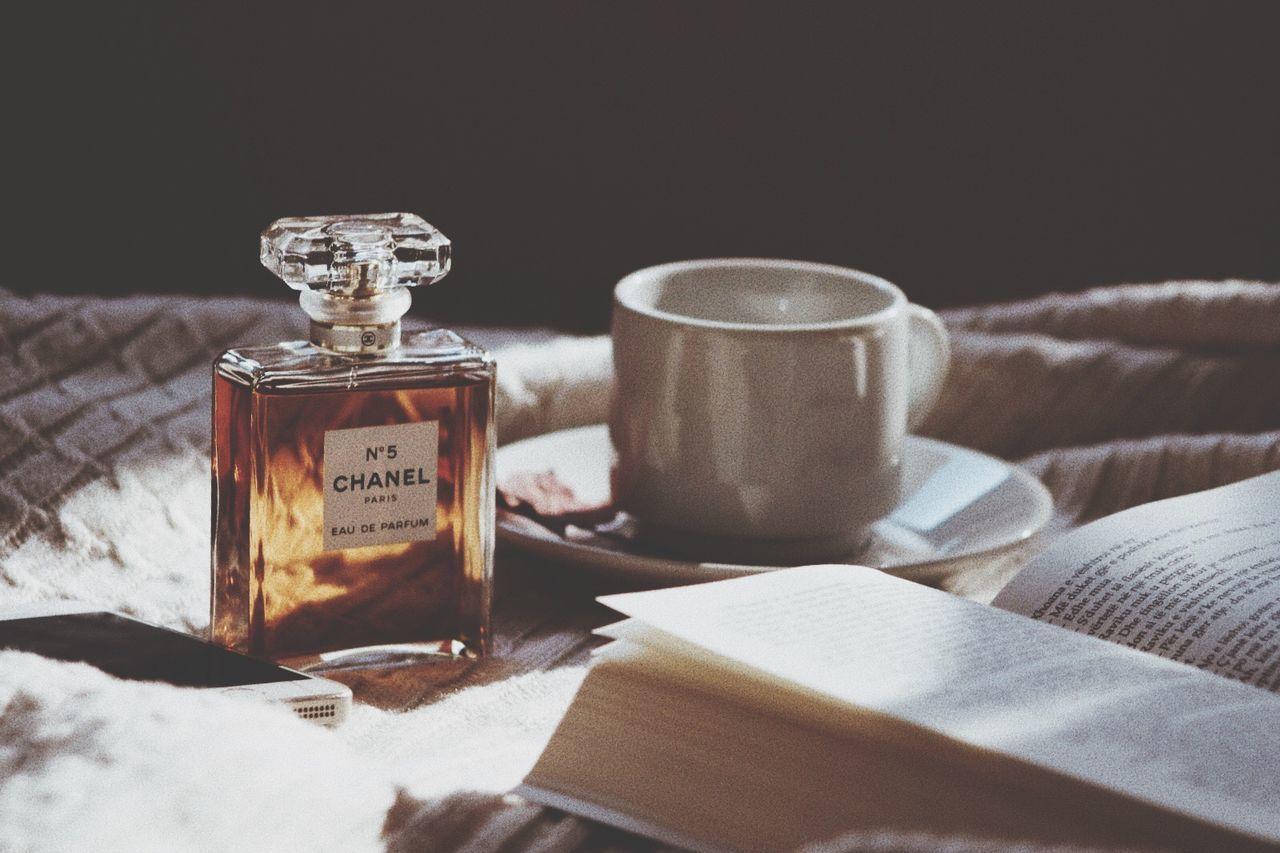 Coffee - Drink Perfume Chanel5 Chanel Books Home Albania No People Nature