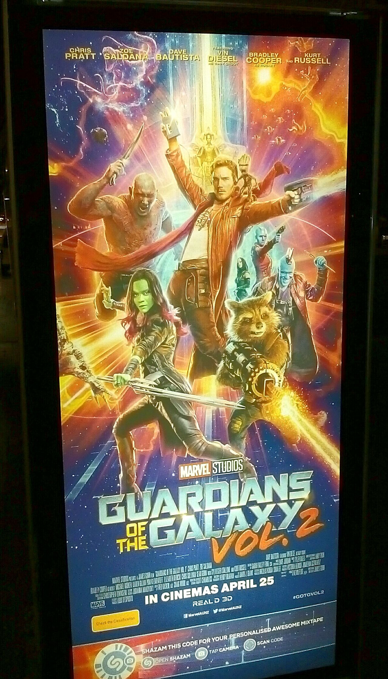 GUARDIANSOFTHEGALAXY Movieposters Guardians Of The Galaxy Poster Illuminated Signs Signs Signage Sign Signs_collection Signstalkers Posters SignHunters Movie Posters MOVIE Illuminatedsigns Movies Movieposter Movie Poster Poster Collection Signs & More Signs Signs, Signs, & More Signs SignSignEverywhereASign Volume2 Vol.2 Vol2