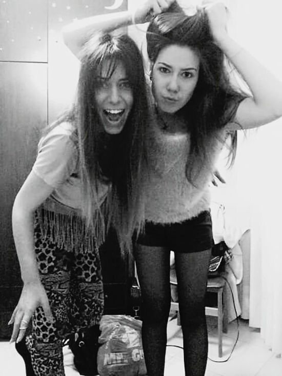 @ Crazy Time Sister ❤ Love You Truly Madly Deeply Do Home Black And White