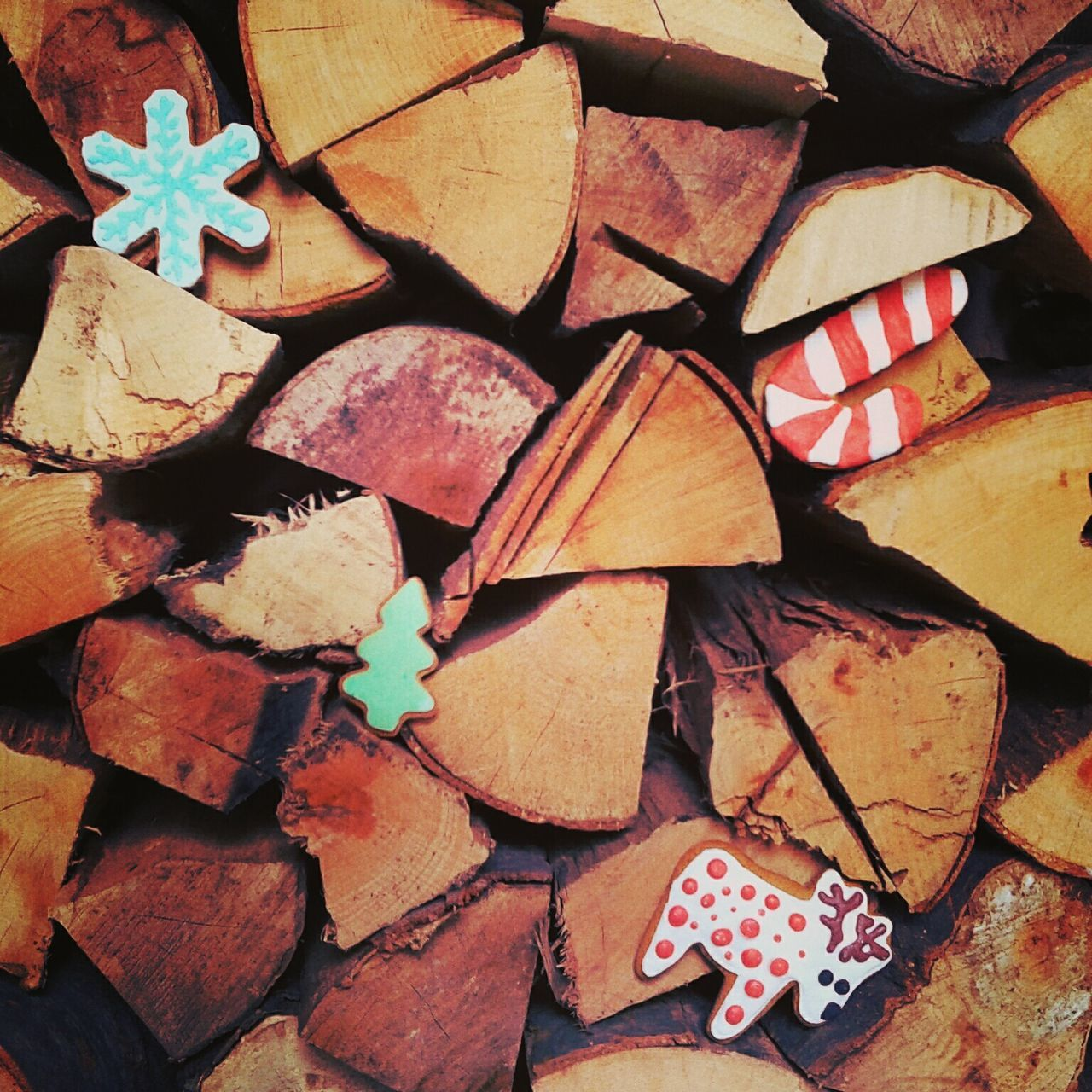 Winter is coming ! ❄ Snowflakes ❄ Christmas Tree Reindeer Woods