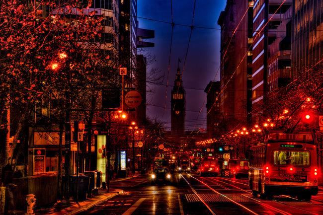 Daybreak at Sleepless Road
