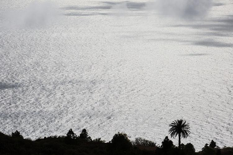 ocean view Tijarafe, La Palma Day High Angle View La Palma, Canarias Nature No People Ocean Outdoors Scenics Silhouette Sky Tijarafe Tranquility