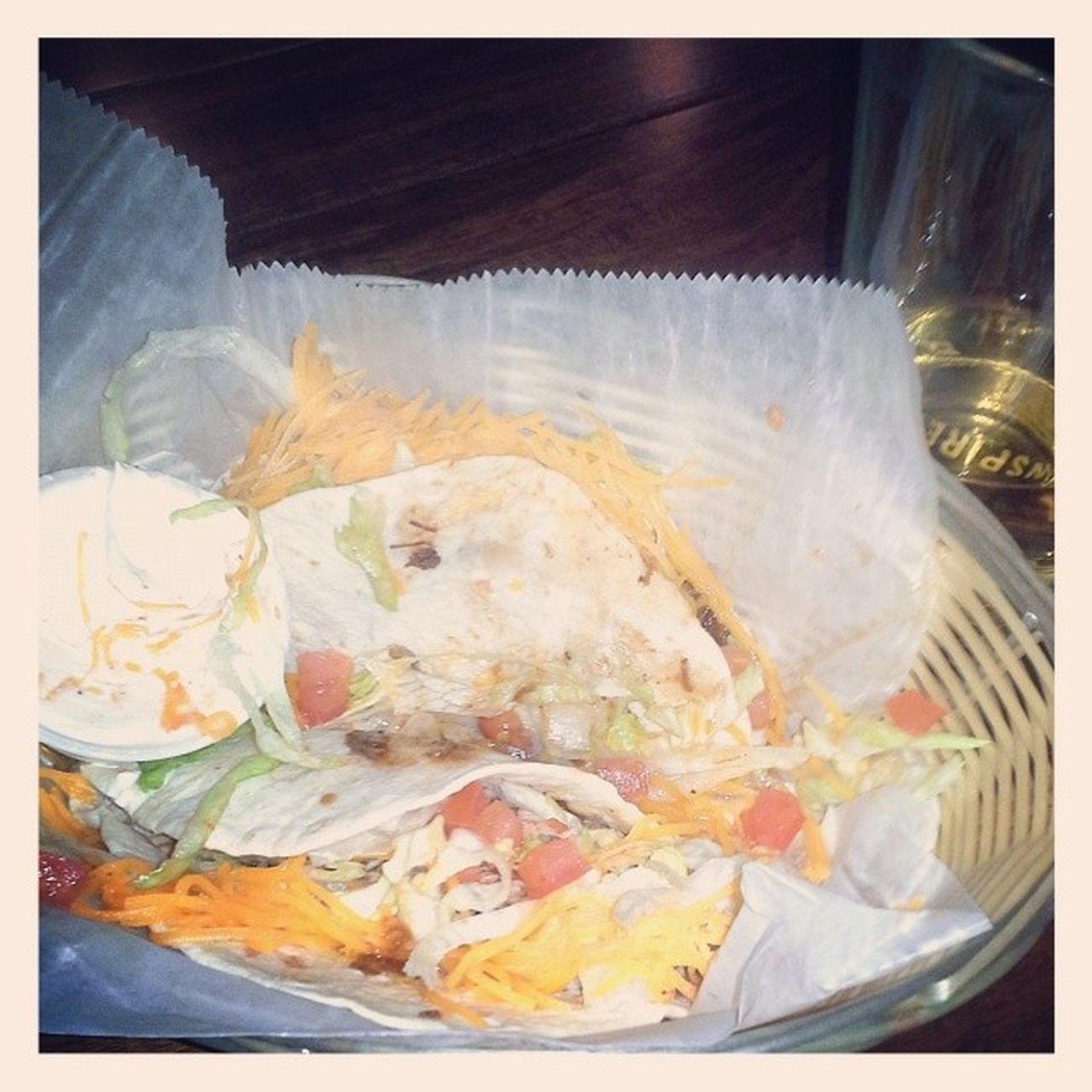 Yummy duck tacos!