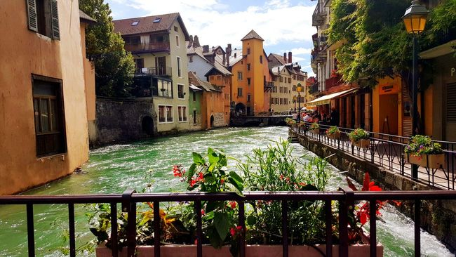 Annecy, France River And Town Flowers, Nature And Beauty Flowers Medieval City