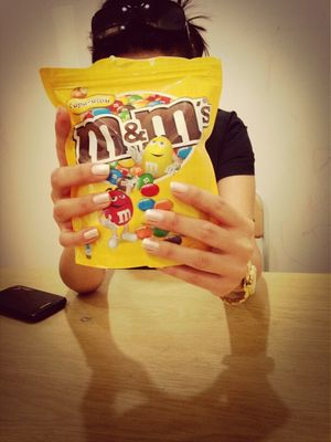 m&ms at prestij -s by Jealous girl