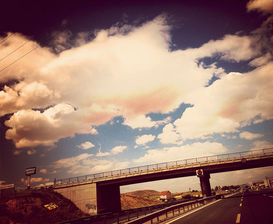 on the road at Ankara-Eskisehir-Bursa Yolu by ~V~