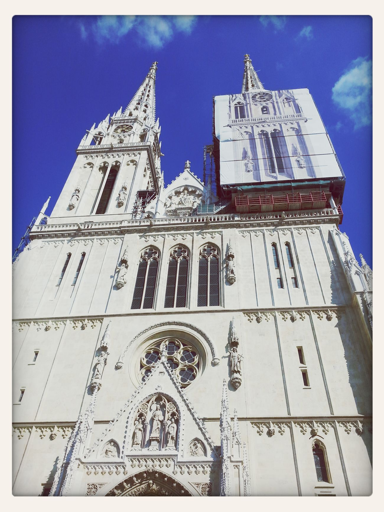 Chatedral Zagreb Church Towers