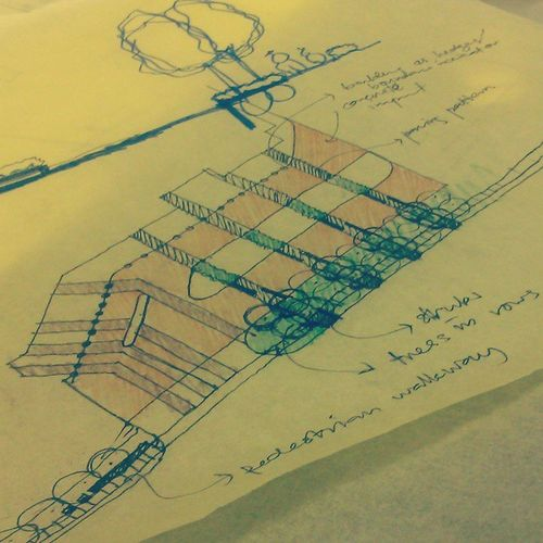 This is my passion~~ Sketch LandscapeArchitecture Mentaridesign