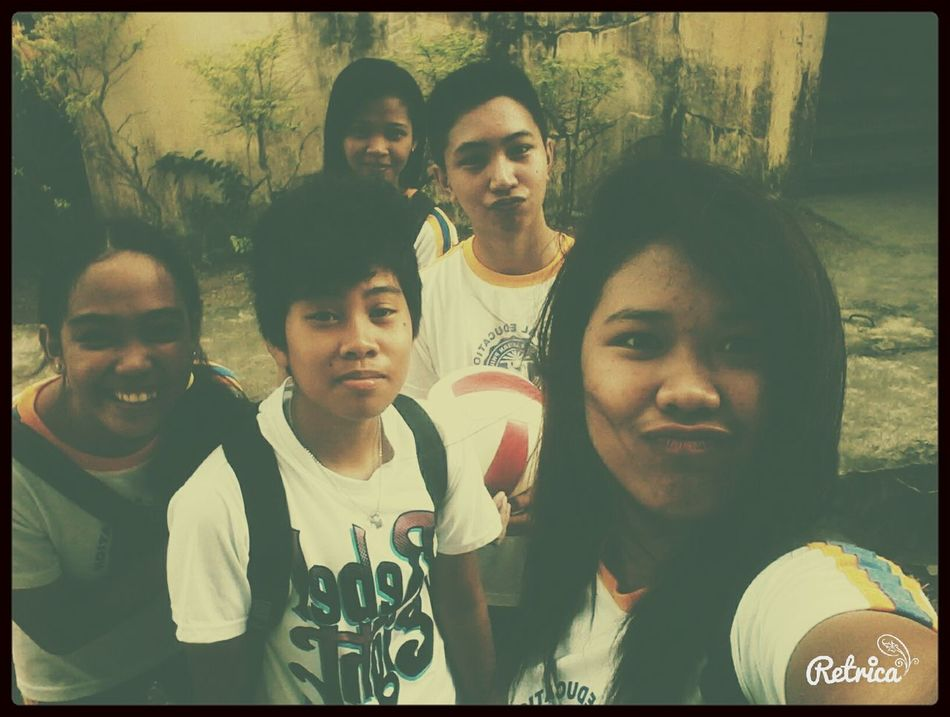 AFTer volleyball practice :)
