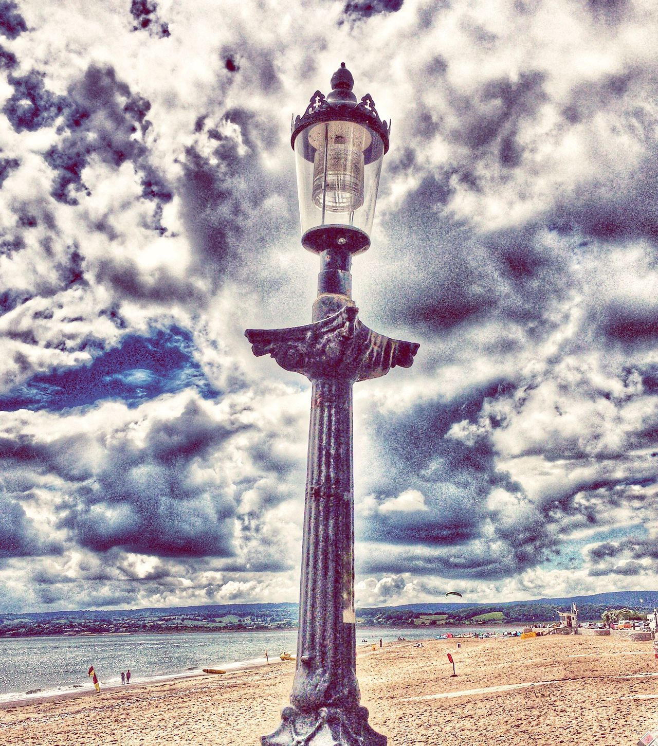 Lampost Lighting Up The Sky Surreal Ironmongery Narnia