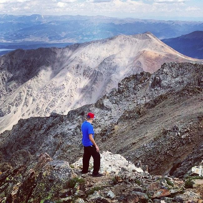 Laplatapeak Colorado 14er Cardio fit fitness