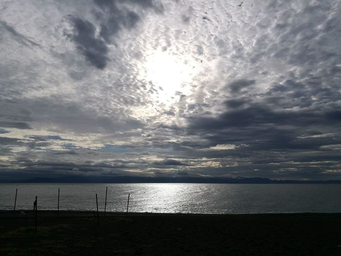 Sea Water Horizon Over Water Cloud - Sky Beach Tranquility Nature Tranquil Scene Scenics Sky Outdoors Beauty In Nature No People Day