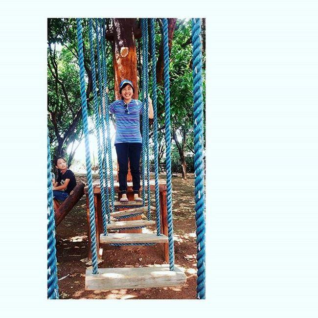HangingBridge FamilyCamp Blue