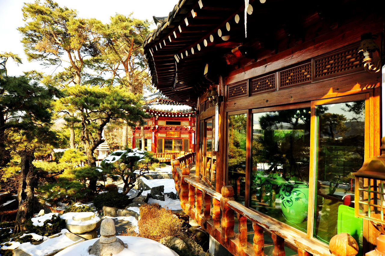 Architecture Culture Korea Garden Traditional Korean House