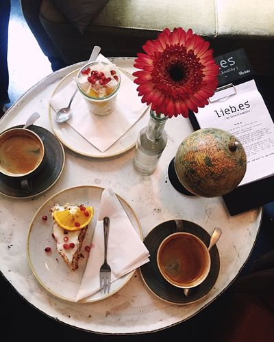 Coffee Food And Drink Sweet Food Flower Hannover Germany Liebes Table Comfy And Cozy Warming The Soul