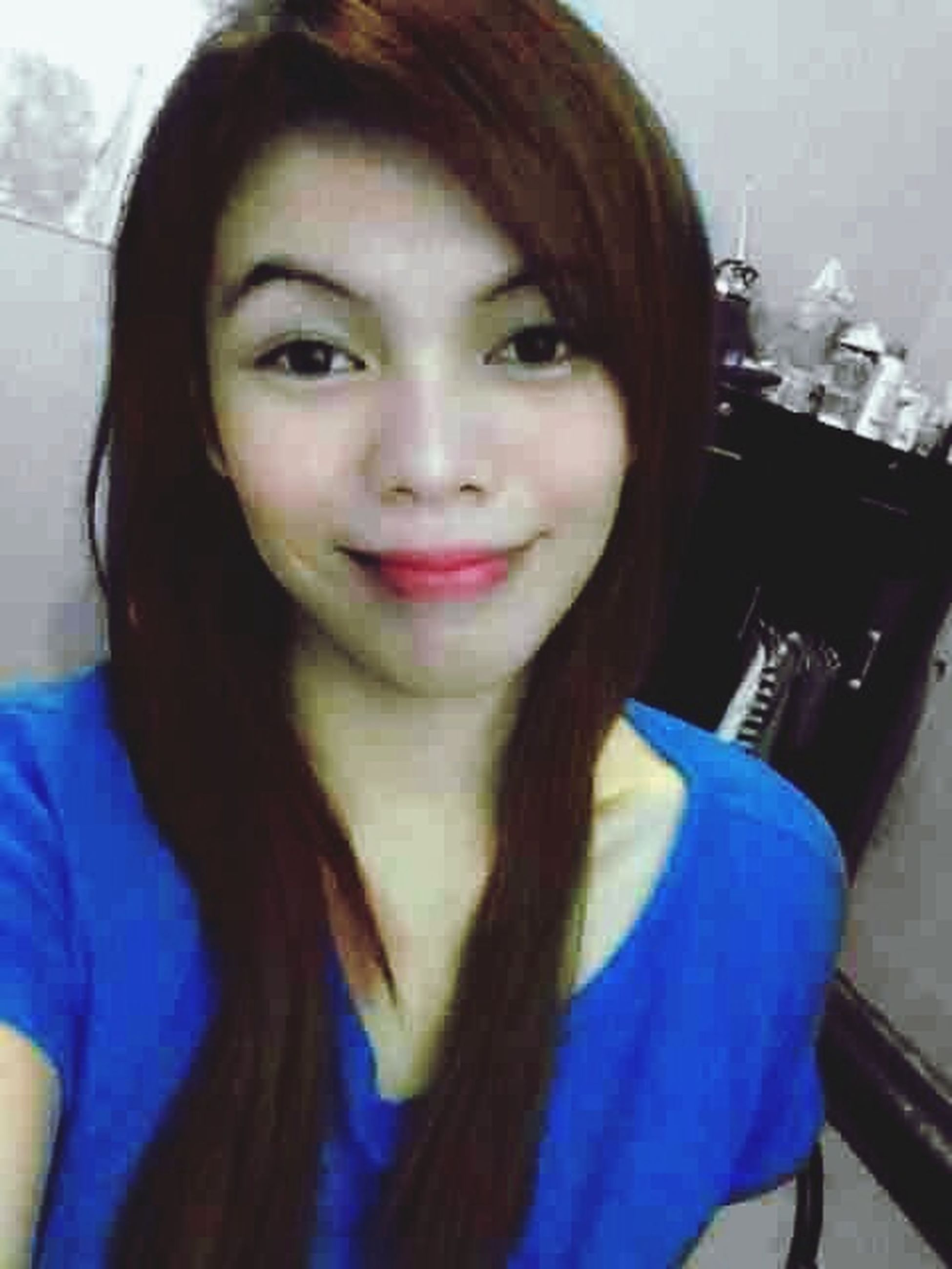 Blue?? WhenBoredomStrikes Smile ✌