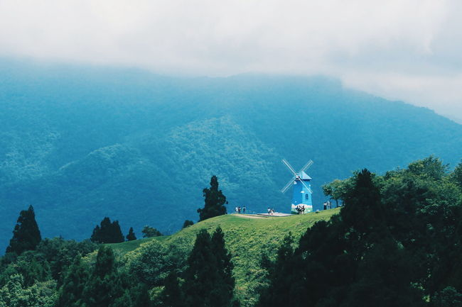 Beauty In Nature Farm Landscape Mountain Nature Landscape Outdoors Sky Travel To Taiwan Tree Trip To Taiwan