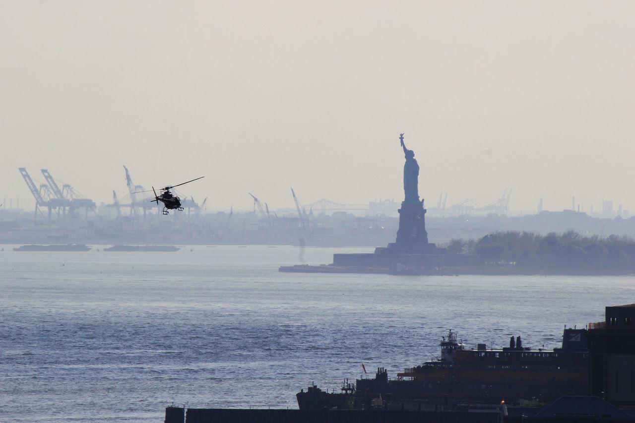 Beautiful stock photos of statue of liberty, Air Vehicle, Art, Art And Craft, City
