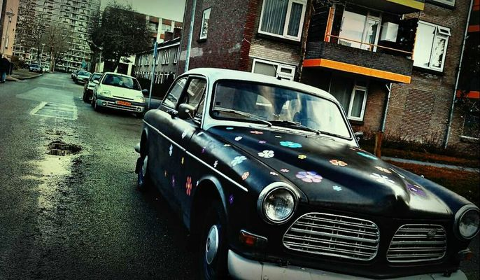 vintage cars at Groningen by LaZyLiFe .