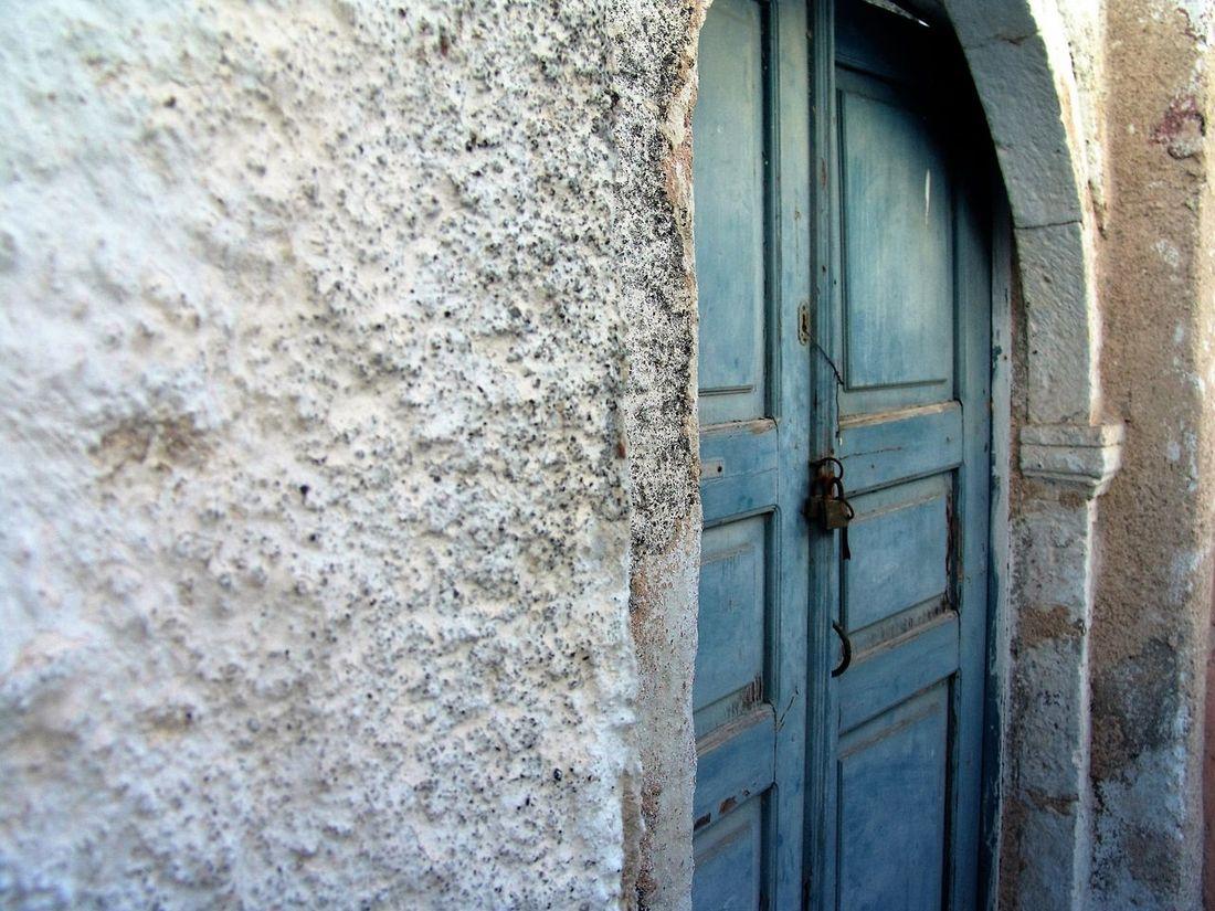 #greece #santorini Architecture Blue Closeddoors House