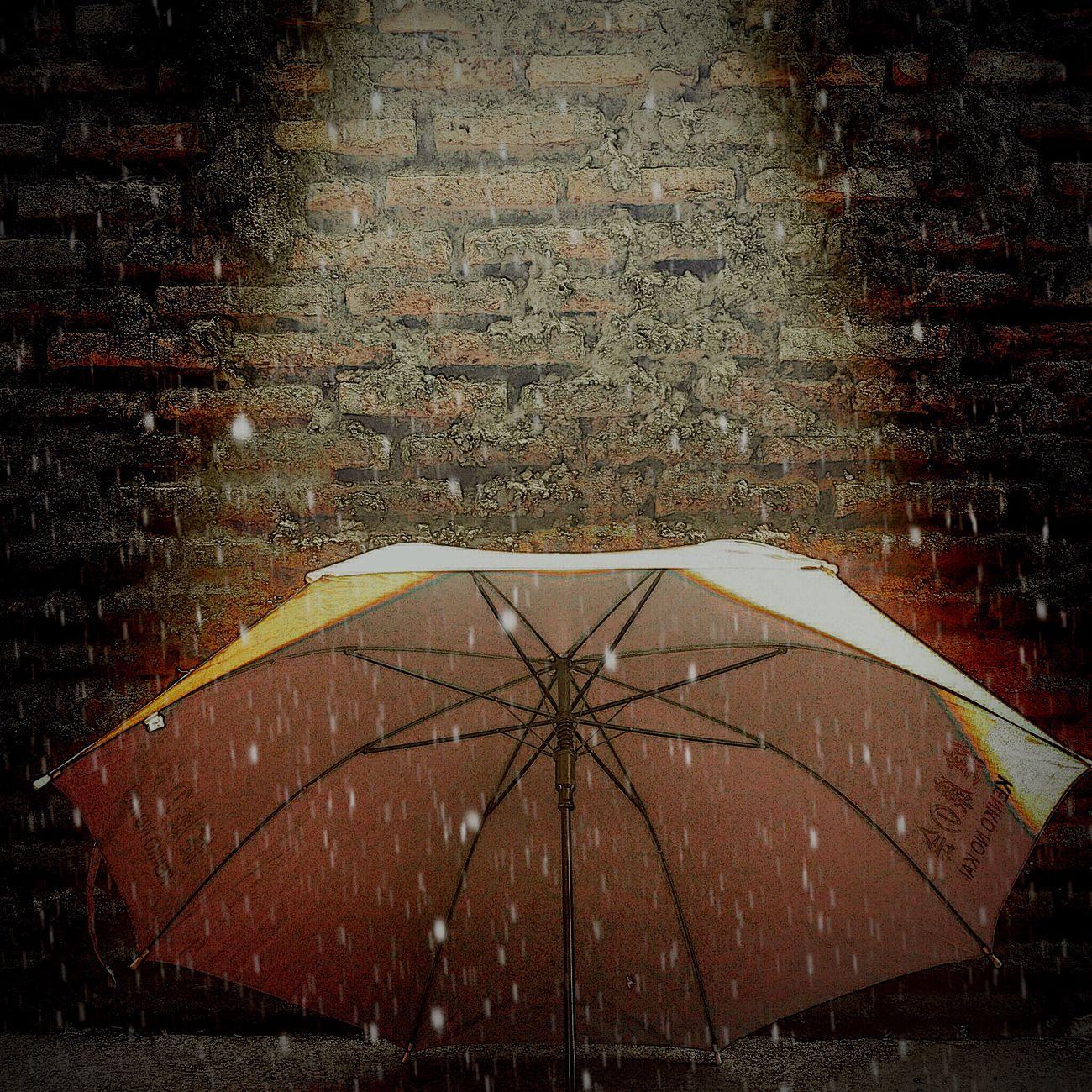 My Artwork My Creation My Creativity My Creations Illuminated Umbrella Rain Night No People Outdoors City Lights Rain Rainy Rainy Days EyeEm Gallery Photooftheday Photography In Motion
