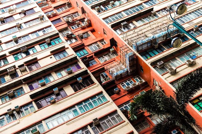 Archi Kong Hong / via my Canon The Architect - 2016 EyeEm Awards Architecture Built Structure City Low Angle View Outdoors Apartment Envision The Future Elevated View EyeEm Best Shots Eye4photography  Cheese! Hong Kong Travel Photography EyeEm Best Edits The Street Photographer - 2016 EyeEm Awards My Favorite Photo